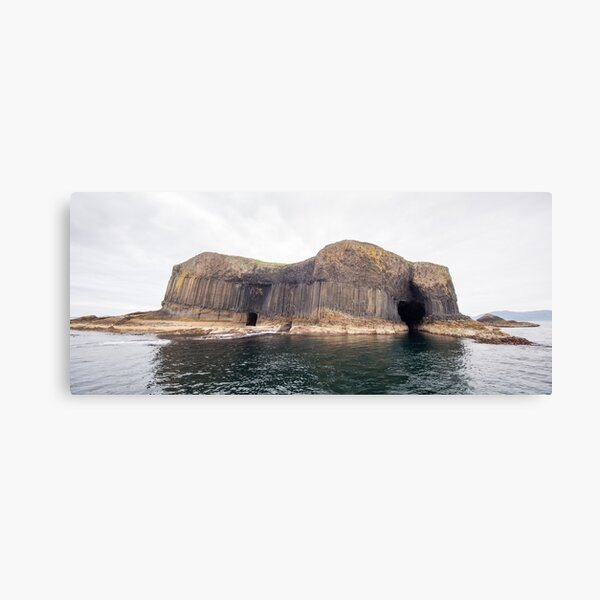Staffa and the cave Canvas Print