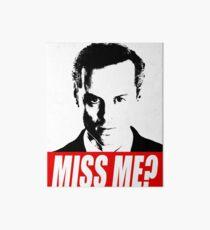 Miss Me? - Jim Moriarty - Sherlock Art Board
