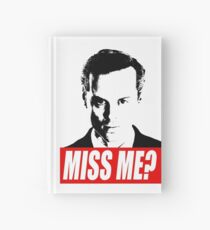 Miss Me? - Jim Moriarty - Sherlock Hardcover Journal