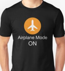 Airplane Mode ON Slim Fit T-Shirt