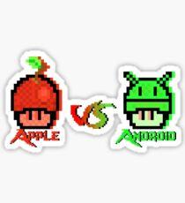 Fruits Versus Aliens - Pixels Sticker