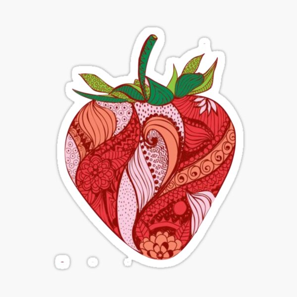 Strawberry Sticker