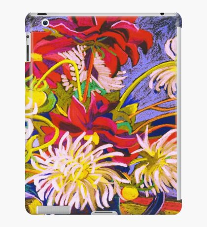 Jug of Dahlias iPad Case/Skin