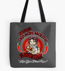 Natsu BBQ FairyTale Anime Tote Bag