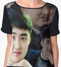 d.o , did you really? Chiffon Top