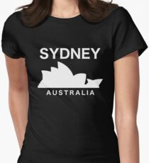 Sydney Opera House Australia Womens Fitted T-Shirt
