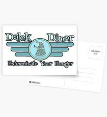 Dalek Diner 2 Postcards