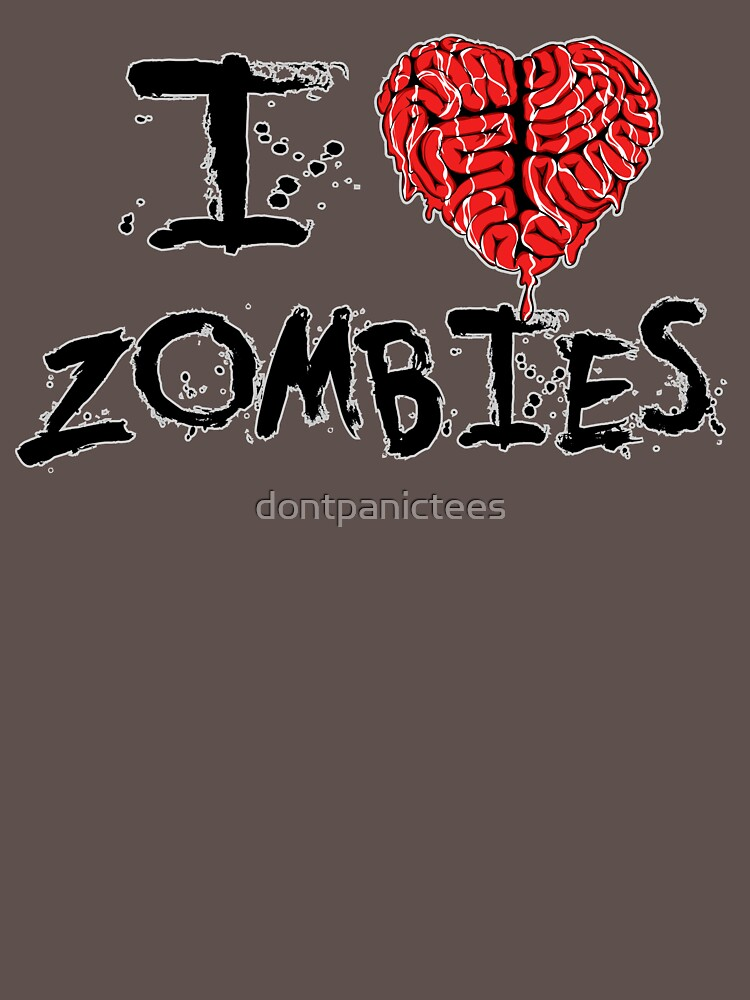 Zombie Love by dontpanictees