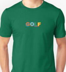 Multi-color 3D Golf Wang  Unisex T-Shirt