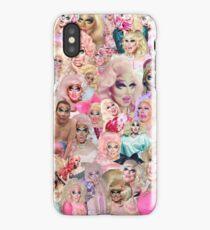 Trixie Mattel Collage iPhone Case/Skin