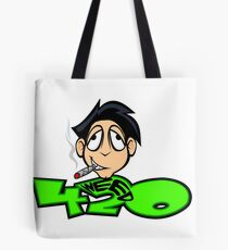 The WeedHed Stoner Guy Tote Bag