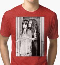 Flüsternde Frau Vintage T-Shirt