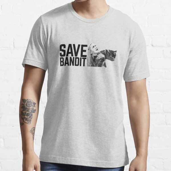 SAVE BANDIT - Angela's Cat Needs a Rescue Essential T-Shirt