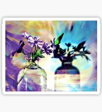 Miniature Floral Arrangement Sticker