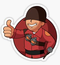 soldier tf2 stickers redbubble