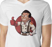 RED Medic Mens V-Neck T-Shirt