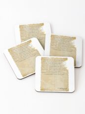 Great Gatsby Excerpt  Coasters