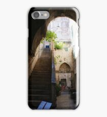Old Town Restaurant in Split, Croatia iPhone Case/Skin
