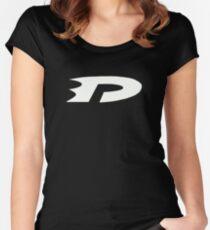 Danny Phantom Logo Women's Fitted Scoop T-Shirt