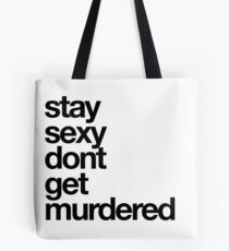 SSDGM Basic - Black Text Tote Bag