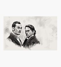 Downey Jr. and Law Photographic Print