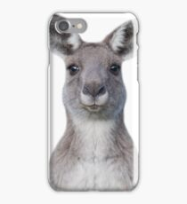 Cute baby kangaroo iPhone Case/Skin