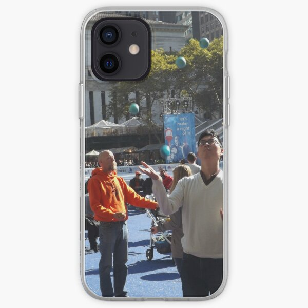 Bryant Park Juggling, Bryant Park, New York City iPhone Soft Case
