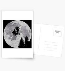 Xenomorph ET Moon Ride Postcards