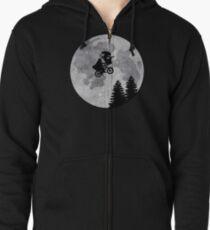 Xenomorph ET Moon Ride Zipped Hoodie