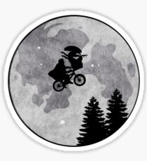 Xenomorph ET Moon Ride Sticker