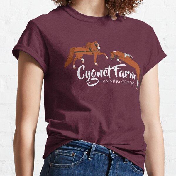 Cygnet Farm - Dark Background Version Classic T-Shirt