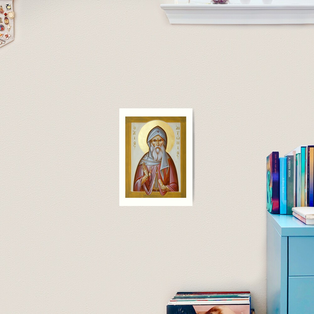 St Anthony the Great Art Print