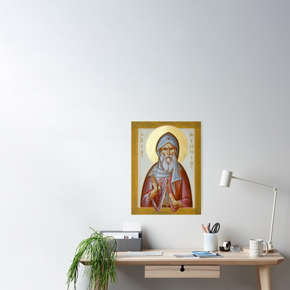 St Anthony the Great Poster