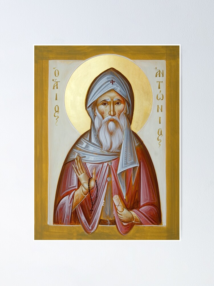 Alternate view of St Anthony the Great Poster