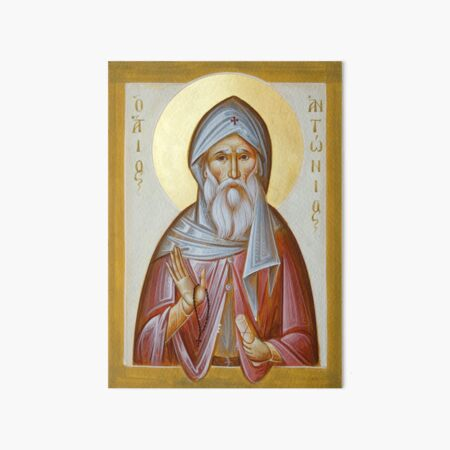 St Anthony the Great Art Board Print