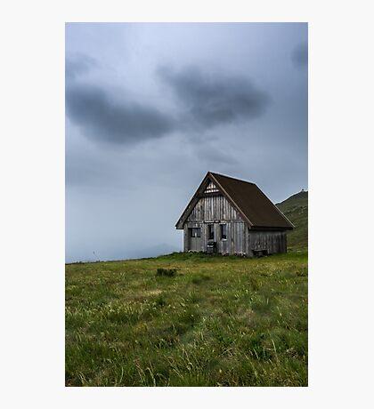 Pendergast Hut Photographic Print