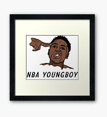 NBA Youngboy  Framed Print