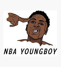 NBA Youngboy  Photographic Print