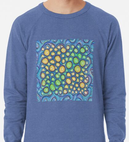 Frozen stones #DeepDream #Art Lightweight Sweatshirt