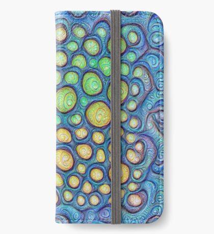 Frozen stones #DeepDream #Art iPhone Wallet