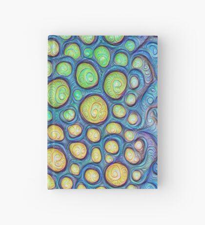 Frozen stones #DeepDream #Art Hardcover Journal
