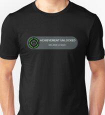 Achievement Unlocked: Became A Dad T-Shirt