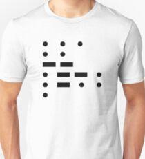 Morse code - Simple Unisex T-Shirt