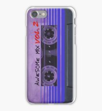 Awesome Mix Vol. 2 iPhone Case/Skin