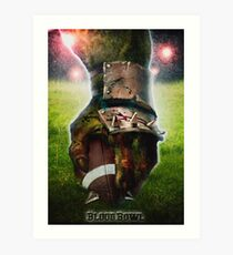 Blood Bowl - fanart movie poster Art Print