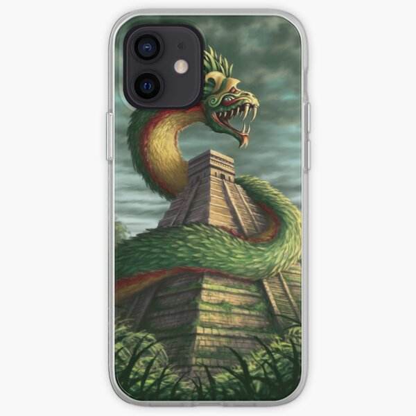 Quatzalcoatl iPhone Soft Case