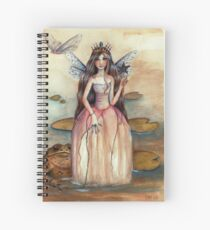 Thumbelina and Mr Toad Spiral Notebook