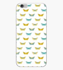 Origami boats iPhone Case