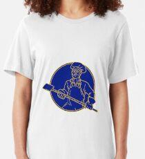 Camiseta ajustada Baker Holding Peel Circle Mono Line