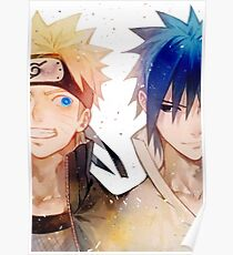 Naruto and Sasuke Poster